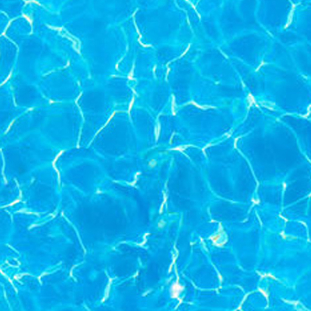 Expodecor-Blue ripped water in swimming pool